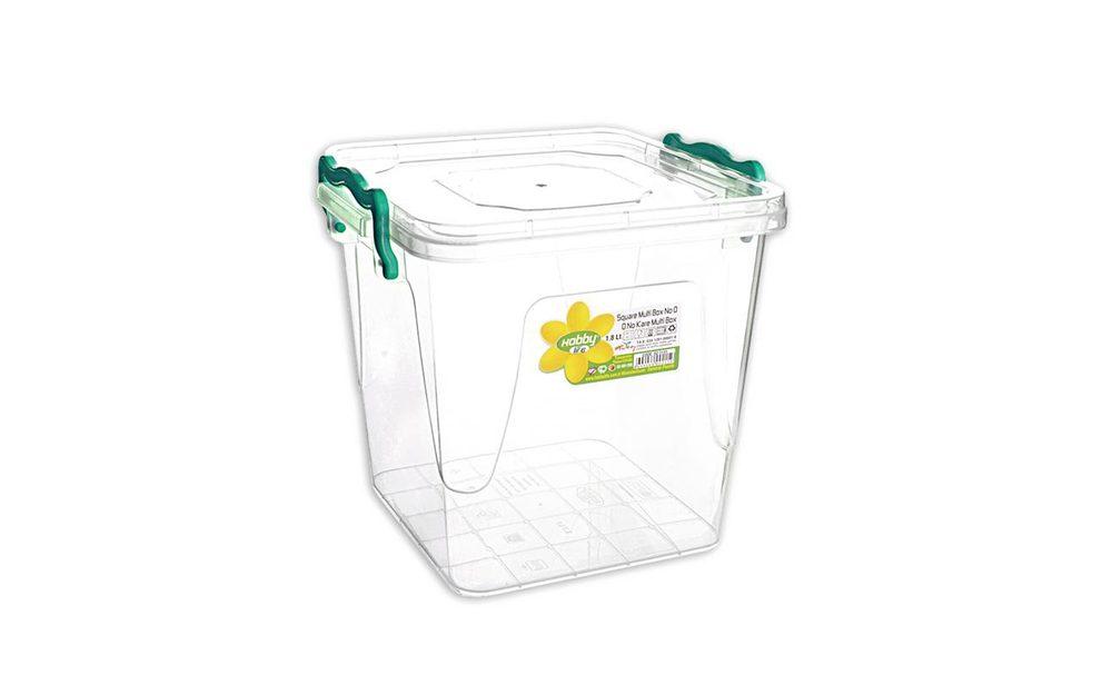 Box multi čtverec vysoký 1,8 l - ORION domácí potřeby
