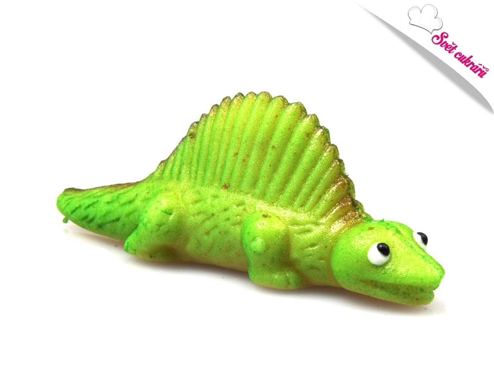 Frischmann Zelený dinosaurus - marcipánová figurka na dort