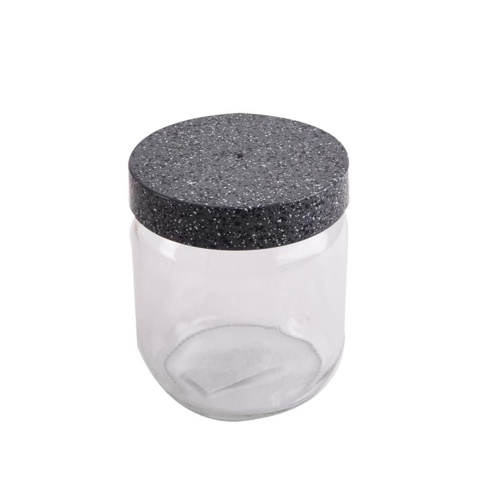Dóza sklo/plast GRANIT 0,425l - ORION