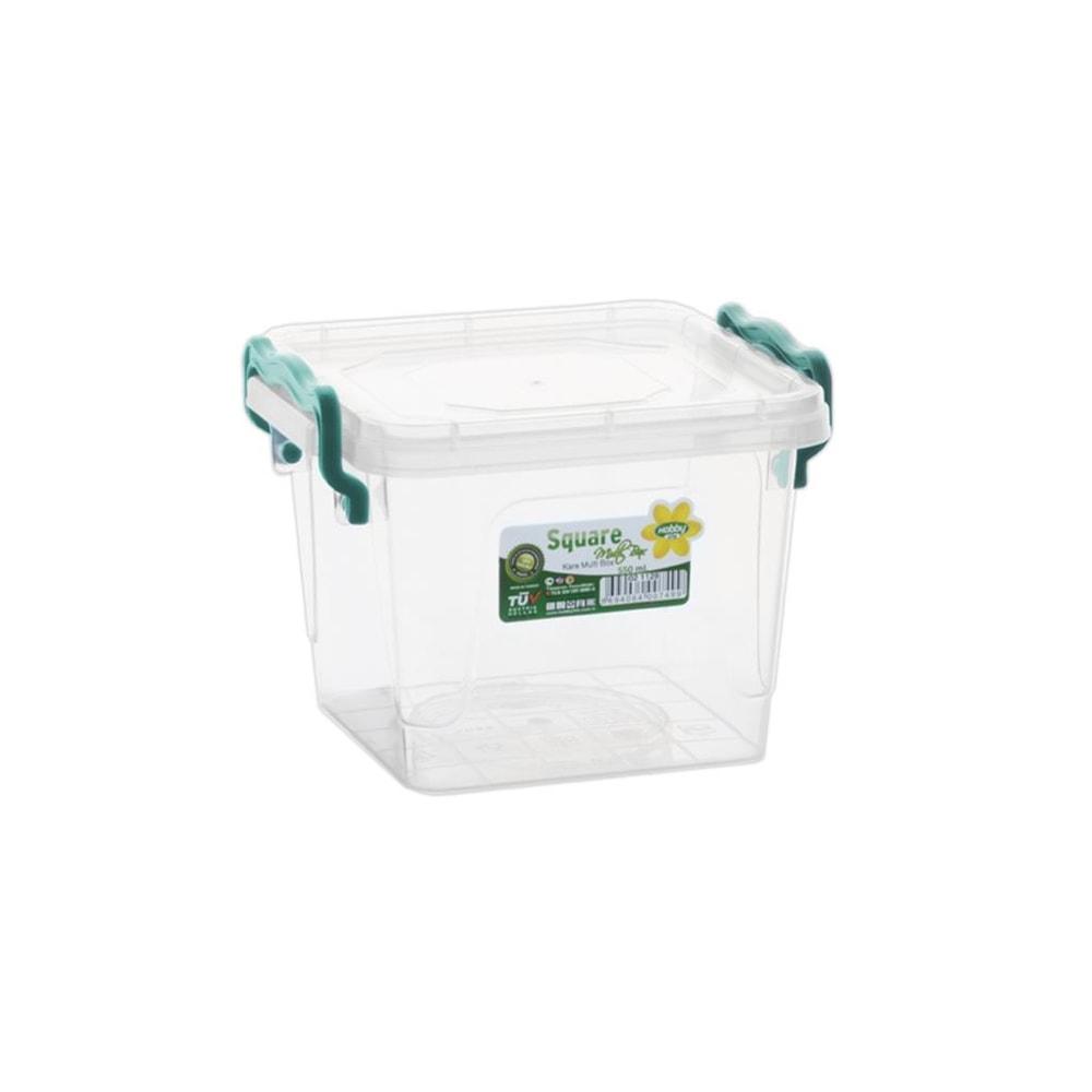 Box plast multi čtverec vysoký 0,55 l - ORION domácí potřeby