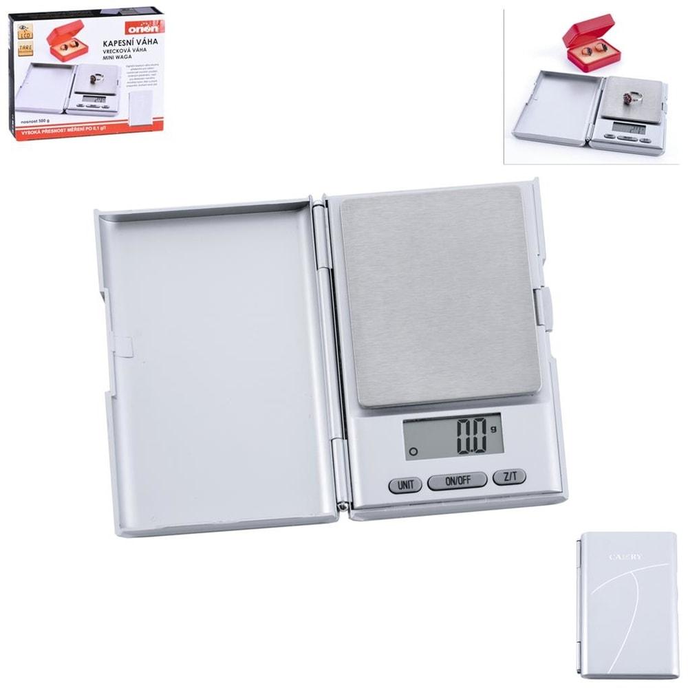 Kapesní digitální váha -