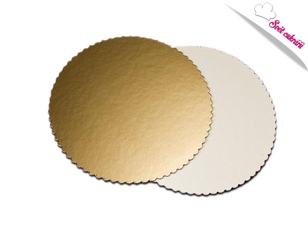 Artigian Dortová podložka zlatá kruh 36 cm