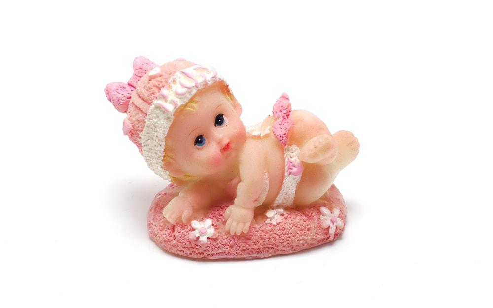 Figurka - holčička batole - dekorace na dort -