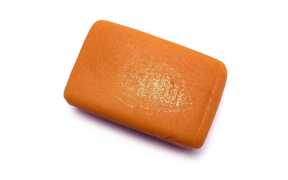 Marcipán oranžový na modelování 100 g - Frischmann
