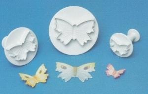 Smart Cook Vypichovač Motýlek na pístu - sada 3ks