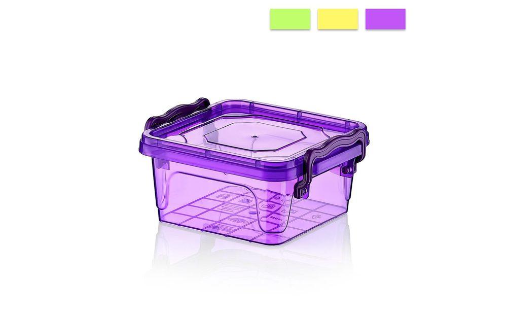 Box plastový BON čtverec nízký 0,35 l - ORION domácí potřeby