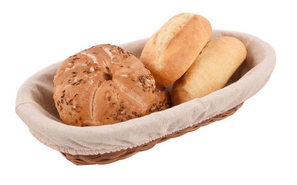 Ošatka na pečivo a domácí chléb s textilem - ORION domácí potřeby