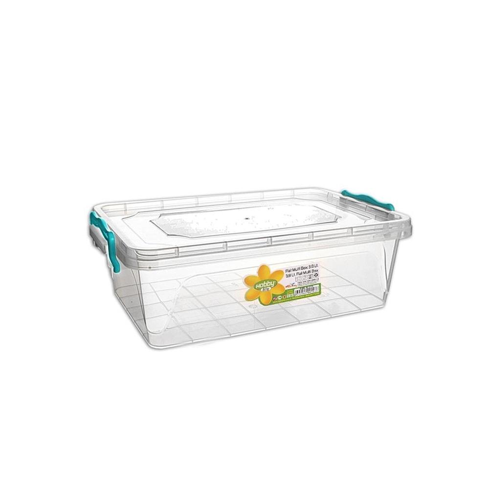 Box plast multi obdelník nízký 3,8 l - ORION domácí potřeby