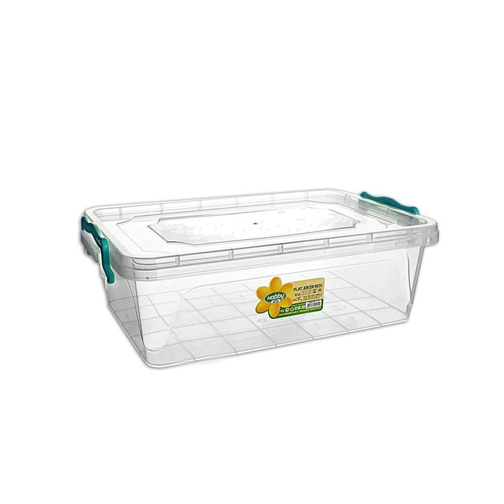 Box plast multi obdelník nízký 6 l - ORION domácí potřeby