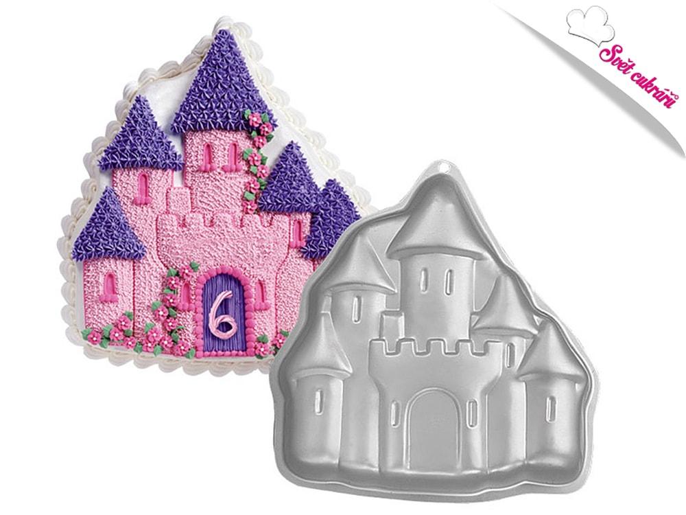 Dortová forma Kouzelný hrad 3D - Wilton