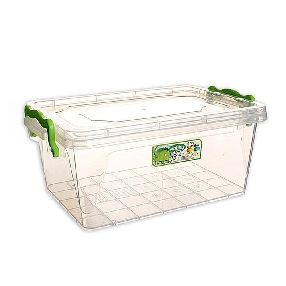 Box plast multi obdelník nízký 30 l - ORION domácí potřeby