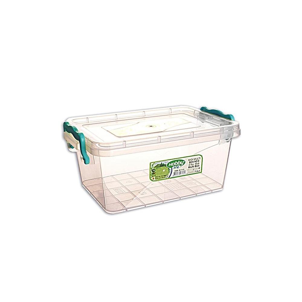 Box multi obdelník nízký 21 x14 x10 cm - 1,5 l - ORION domácí potřeby