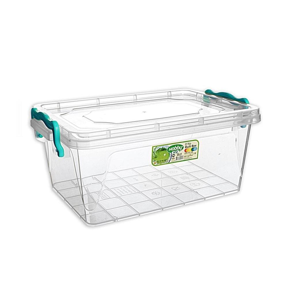 Box plast multi obdelník nízký 20 l - ORION domácí potřeby