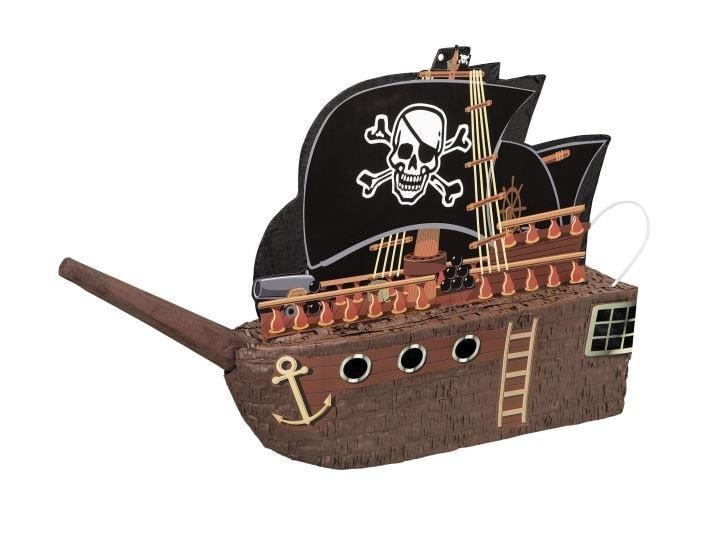 Piňata Pirátská loď - rozbíjecí - UNIQUE
