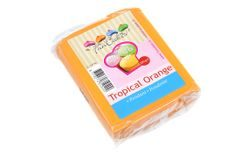 Orange rolled fondant Tropical Orange (coloured fondant) 250 g