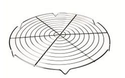 Round grid for cooling cakes, pies and bundt cakes - 30 cm