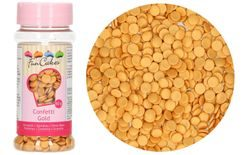 Edible Sugar Decoration Confetti Gold 60 g