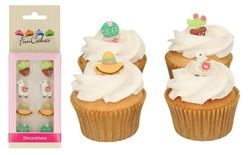 Sugar Decorations Alpaca Set - 8 pcs