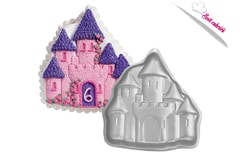 Cake tin Magic castle 3D