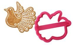 Dove gingerbread cookie cutter - 3D print