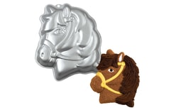 Cake tin Pony's head 3D