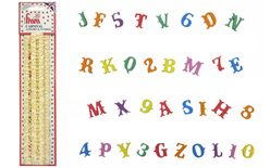 Alphabet & Numbers Tappits Carnival for cake decorations