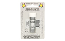 Lustre dust colour Antique Silver