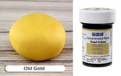 Gel paste PME Old Gold