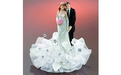Wedding couple 19cm