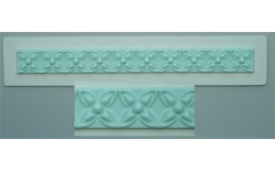 Silicone mould Border patterned