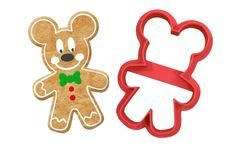 Mickey Mouse gingerbread cutter - 3D print