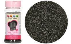 Coloured Sugar - Black - 80 g