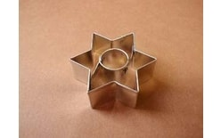 Dough cutter star small + small ring