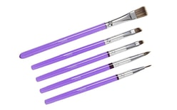 Brush for dusting - set of 5 pieces