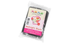 Black marzipan Midnight Black 250 g