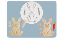 Silicone mould Nursery Bunny
