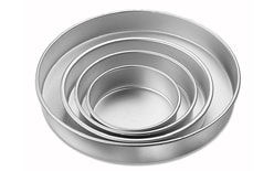 Cake tins set, round 4 pc.
