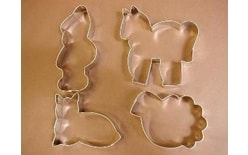 Set of dough cutters - Figures with a dwarf