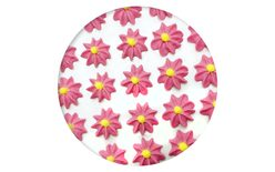 Sugar decoration - Gerberas 28 pc. pink