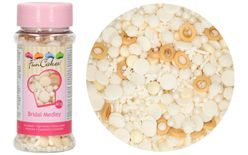 Edible Sugar Decoration Sprinkle Medley - Bridal - 60g