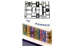 Patchwork Book Ends