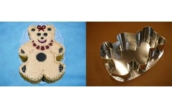 Cake tin Teddy bear