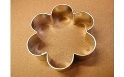 Dough cutter flower blossom big