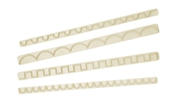 Set of frill and lace cutters 4 designs (set 3)
