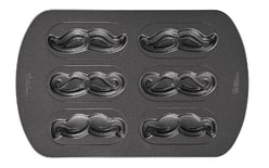 Mustache Cookie Pan | Wilton