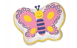 Cake tin Butterfly Wilton