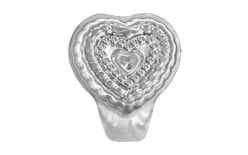 Dough mould heart 20 pc.