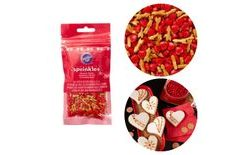 Wilton Jumbo Sprinkles Heart and arrow - 56g