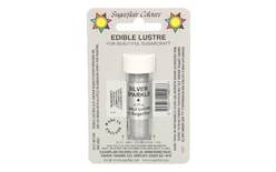 Dust lustre colour Silver Sparkle