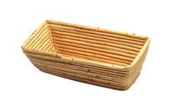 Basket rotang rectangular (rotang dish for bread doug rising)